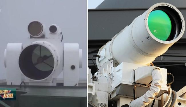 China Tests Tactical Laser Similar To US Navy System