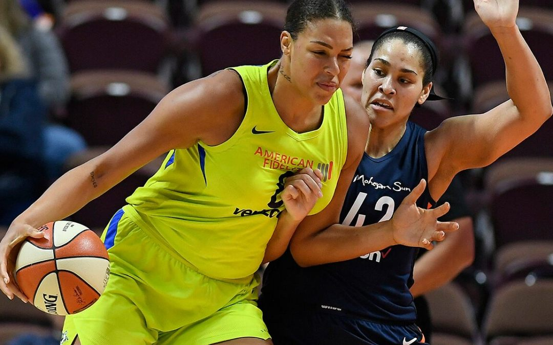 WNBA star Liz Cambage traded from Dallas to Las Vegas