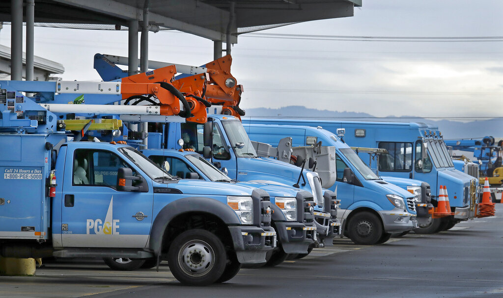 PG&E shuts off power in Northern Calif. to avoid fire hazards