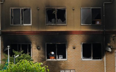 33 dead in Japan after man ignites anime studio, authorities investigating