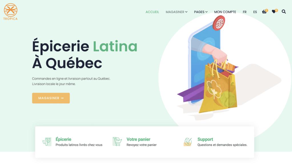 Épicerie latino à Québec