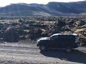 super jeep tour on Fjallabak