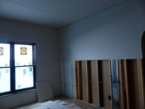More drywall
