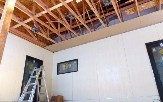 Drywall Is Underway- November 28th