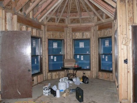 Dining Room with windows!