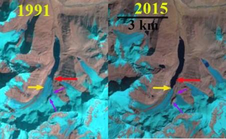 Zhizhai Glacier, Tibet