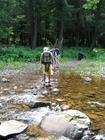 Backpacking Adventure Trip Camps