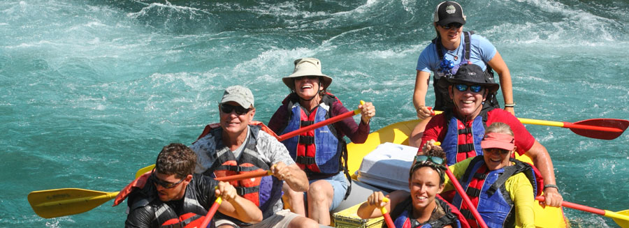 glacier rafting, full-day sport raft with lunch