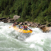 Glacier National Park White Water Rafting