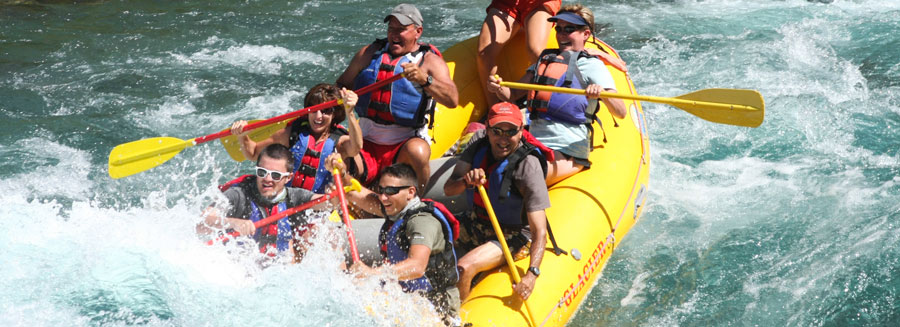 West Glacier Rafting, Half-Day Sport Raft