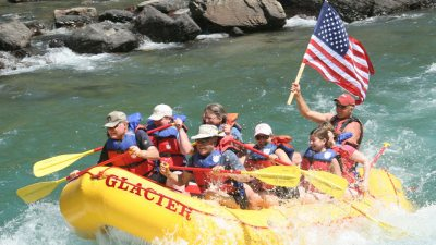 Glacier National Park, Whitewater Rafting