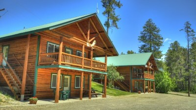 Lodging Near Glacier National Park, 2 Bedroom Cabin Rental