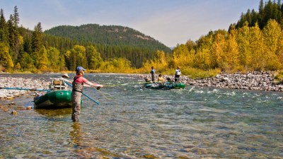 Middle Fork Flathead River, Montana Fly Fishing, Glacier Raft Company