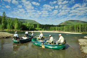 Montana Fly Fishing, Middle Fork flathead river, glacier anglers