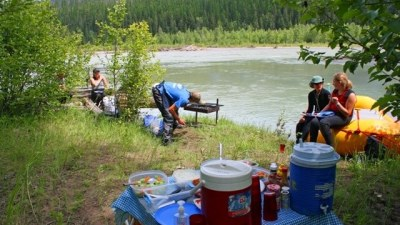 Montana Whitewater Rafting, Full Day Trip, Riverside Lunch