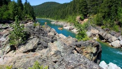 Middle Fork Flathead River, White water rafting Montana