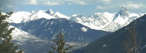 Webcam view from Apgar Mountain Glacier Park looking south east