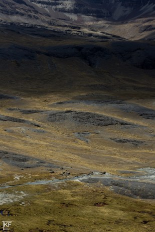 Dolina lodowca Charquini Sur. Fot. T. Kurczaba