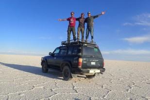 Największe solnisko świata - Salar de Uyuni. Fot. J. Małecki