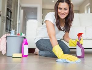 Ett rent hem ger lugn o ro i själen!