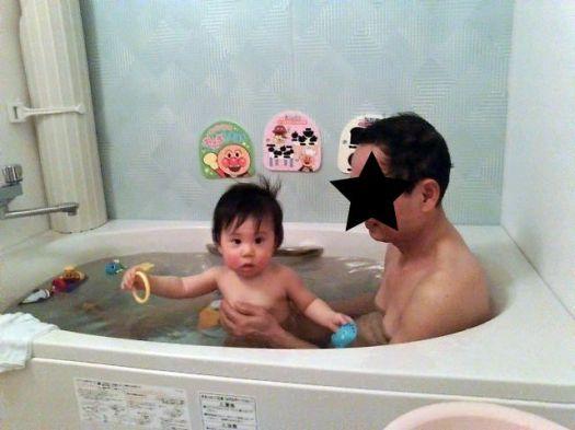 じいじとお風呂