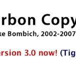 Mac用定番(だった)バックアップツール「Carbon Copy Cloner」がTigerに対応