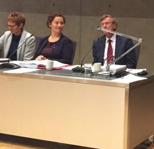 Ordfører, varaordføreradm.sjef i Tromsø kommune, september 2016.