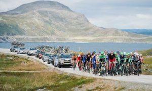 Vakker natur fra Arctic Race of Norway 2014 (foto: AFP)