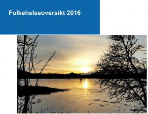 Forside - Folkehelseoversikt 2016