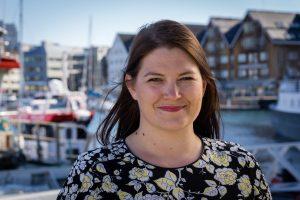 Cecilie Myrseth fra Tromsø, er Arbeiderpartiets førstekandidat ved Stortingsvalget 2017,