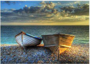 Båtar i havsbrynet