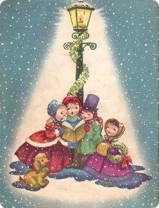 Jul lykta barn