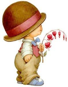 Pojke röd hatt