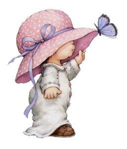Flicka hatt