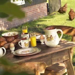 Frukost bord hönor