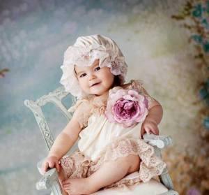 Flicka stol rosett