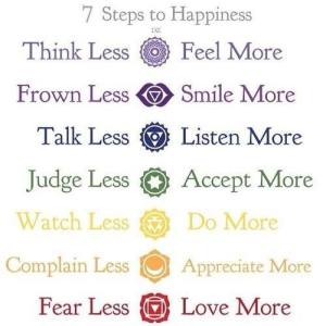 7 steg till lycka