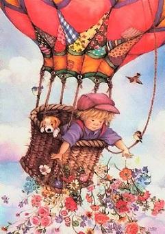 Pojke luftballong kopia