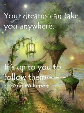 Drömmar kan ta vart som helst kopia