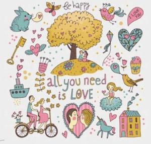 Bara kärlek behövs kopia