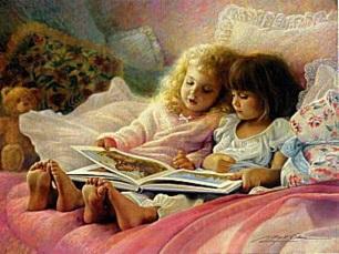 Godnatt Barn säng godnattsaga kopia
