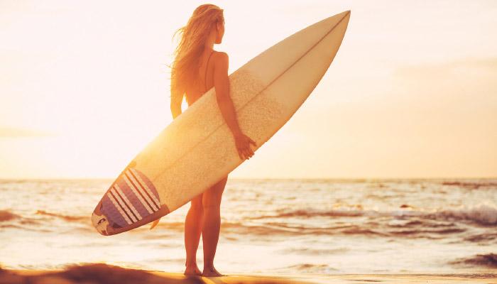 Yoga surf Spanien