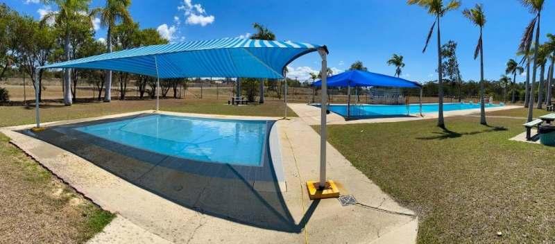 Mount Larcom Pool Is Open!
