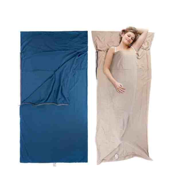 portable envelope cotton sleeping bag image