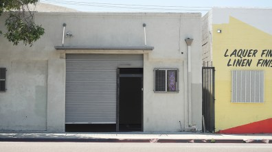 Exterior view of Nick Bastis and Nick Raffel, JOAN, Los Angeles, June 18 – July 24, 2016.