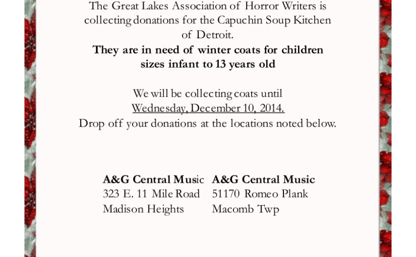 Coats for Kids 2014 Donations