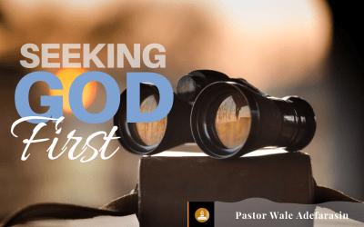 Seeking God's Kingdom First