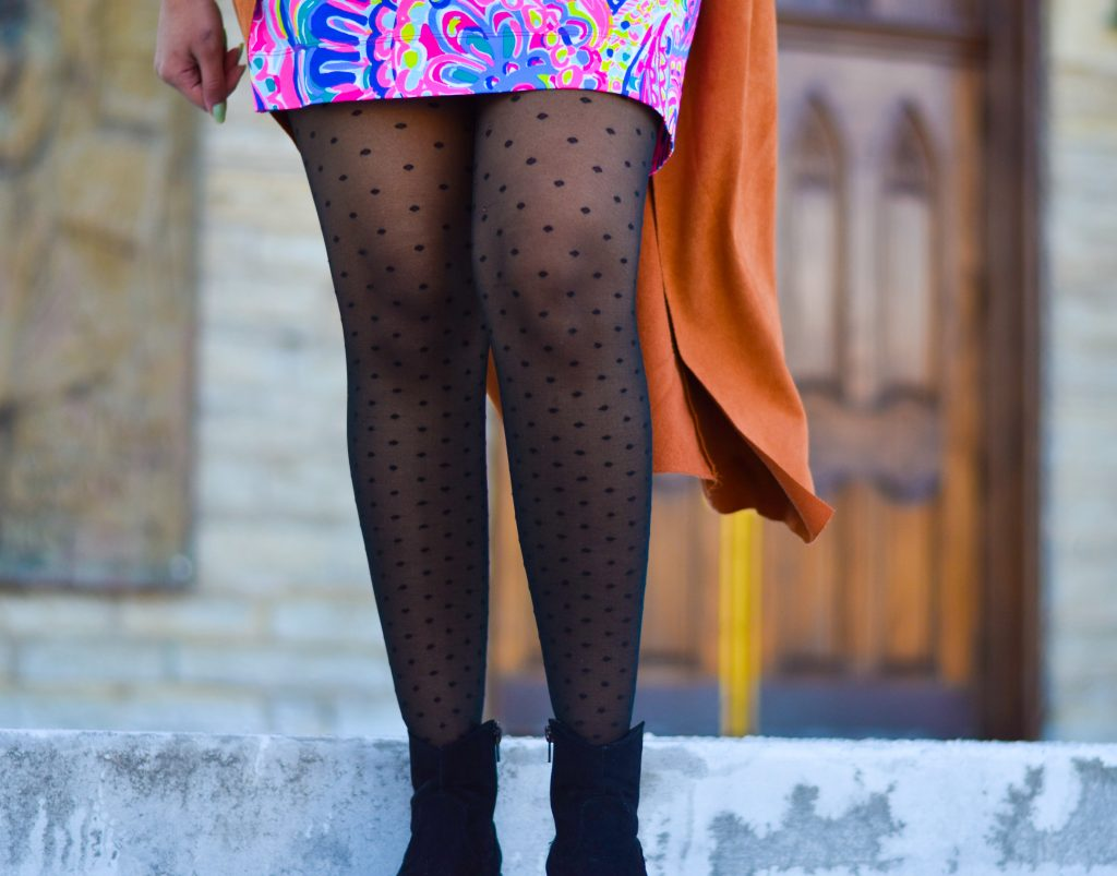 Polka dot stockings by Berkshire Legs