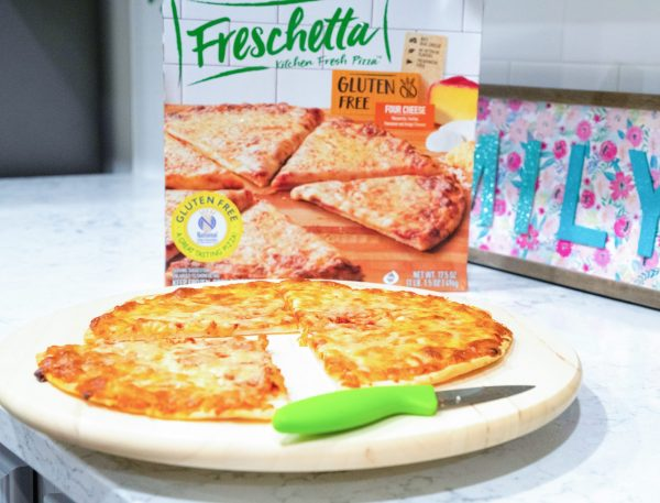 Frescchetta Gluten Free Four Cheese Pizza