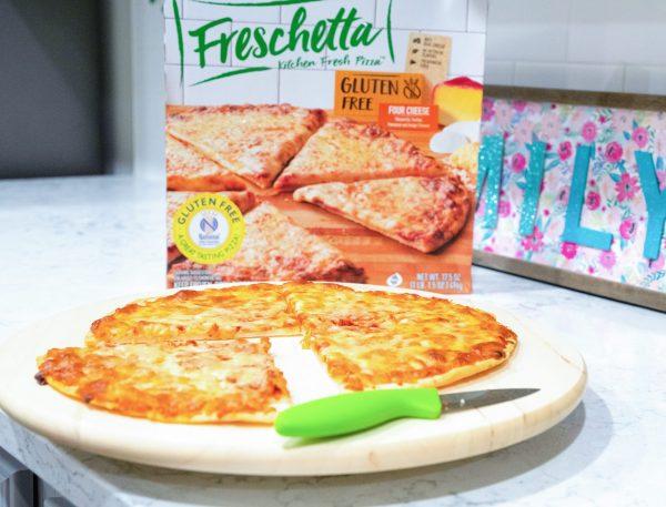 Frescchetta Gluten Free Four Cheese Pizza